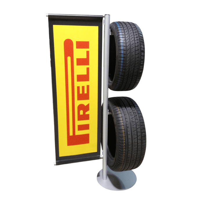 Pirelli Tire Display